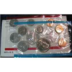 988. 1971 US Mint Set. Original as Issued.