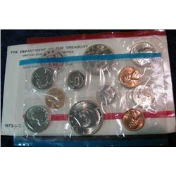 989. 1972 US Mint Set. Original as Issued.