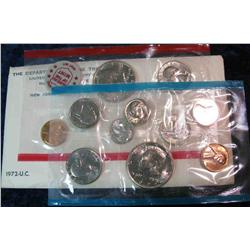 990. 1972 US Mint Set. Original as Issued.