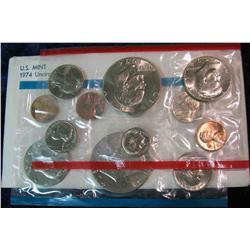 993. 1974 US Mint Set. Original as Issued.