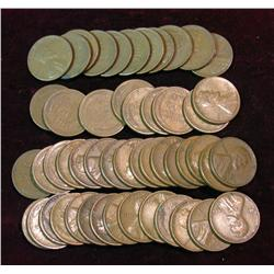 1165. (50) S-Mint Wheat Cents.