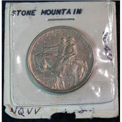 1176. 1925 Stone Mountain Com. Half Dollar. AU.