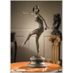Bronze Art Deco Dancer