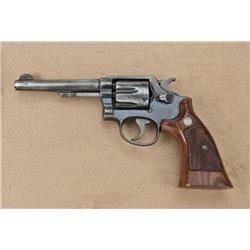 "Smith & Wesson Military and Police model, .38  special caliber, double-action revolver, 5""  barrel,"