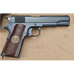 Colt model 1911 WWI commemorative, .45ACP caliber  with commemorative WWI motifs for the battle of