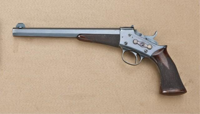 remington model 1901 22 long rifle caliber target pistol 10