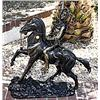 Signed Bronze Scalp Remington