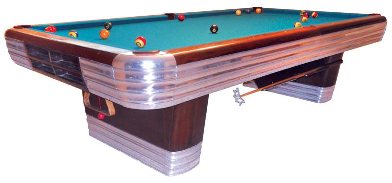 Billiard Table BrunswickBalkeCollender Centennial C A - Brunswick centennial pool table