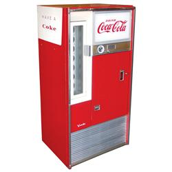 coca cola machine 1960