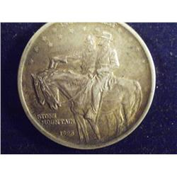 1925 Stone Mountain Silver 50C Memorial, AU      3ch