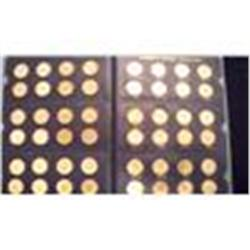 Uncirculated Set of Every Jefferson Nickel 1938-1964 All Mints   ch17