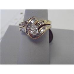 1.25 Carat Diamonds W/Heart Shaped Center Diam.