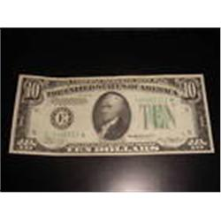 $10 Federal Reserve Note Richmond Virginia