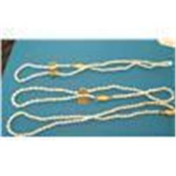 3 Genuine Freshwater Pearl Necklaces