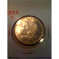1885-O Silver Morgan Dollar