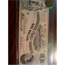 1862 Confederate Bill