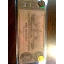 1862 confederate note