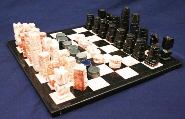 Marble Chess Set Mexico