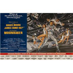 Moonraker US subway billboard poster