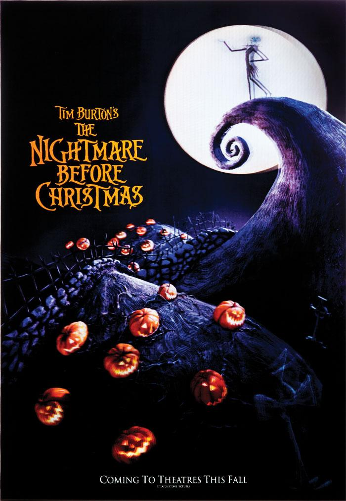 The Nightmare Before Christmas lenticular one-sheet poster