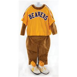 "Cameron Diaz ""Natalie Cook"" Beavers mascot costume from Charlie's Angels: Full Throttle"