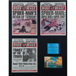 Prop Daily Bugle newspaper covers from Spider-Man