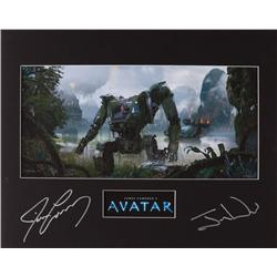 Avatar limited edition giclée print signed by James Cameron and Jon Landau