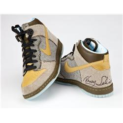 Limited Edition Nike Coraline Dunks signed by director Henry Selick