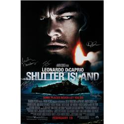 Shutter Island one-sheet poster signed