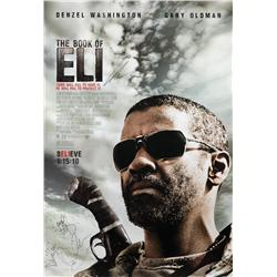 The Book of Eli cast-signed one-sheet poster
