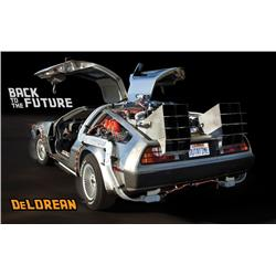 The most technically accurate reproduction of the iconic DeLorean Time Machine from Back to the Futu
