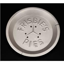 Prop Frisbie's Pies pie plate from Back to the Future III
