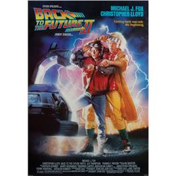 Back to the Future II one-sheet poster