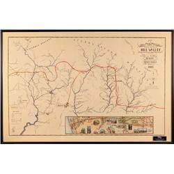 Prop Hill Valley map from Back to the Future III