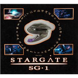 Closed Zat gun and display from Stargate SG-1