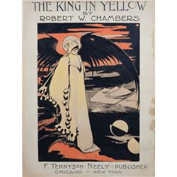 Robert Chambers' advertising artwork for The King in Yellow
