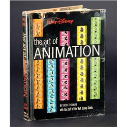 "The Art of Animation signed by Walt Disney and Disney's ""Nine Old Men"""