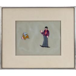 Original animation cel from The Beatles' Yellow Submarine