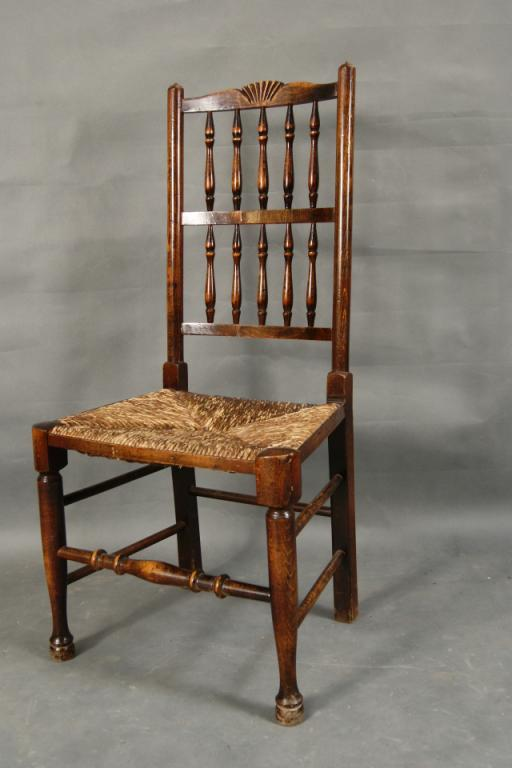 ... Image 3 : Pair of Antique rush seat chairs with cusions ... - Pair Of Antique Rush Seat Chairs With Cusions