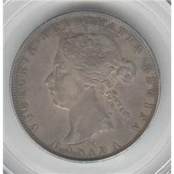 50 Cents 1872H, graded PCGS EF-40.