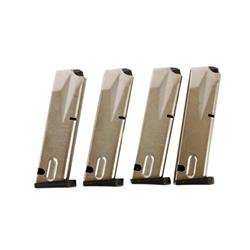 Lot of Four Beretta Magazines Stainless magazines for the Beretta Model 92/96. Excellent condition.S