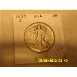 1920-S WALKING LIBERTY