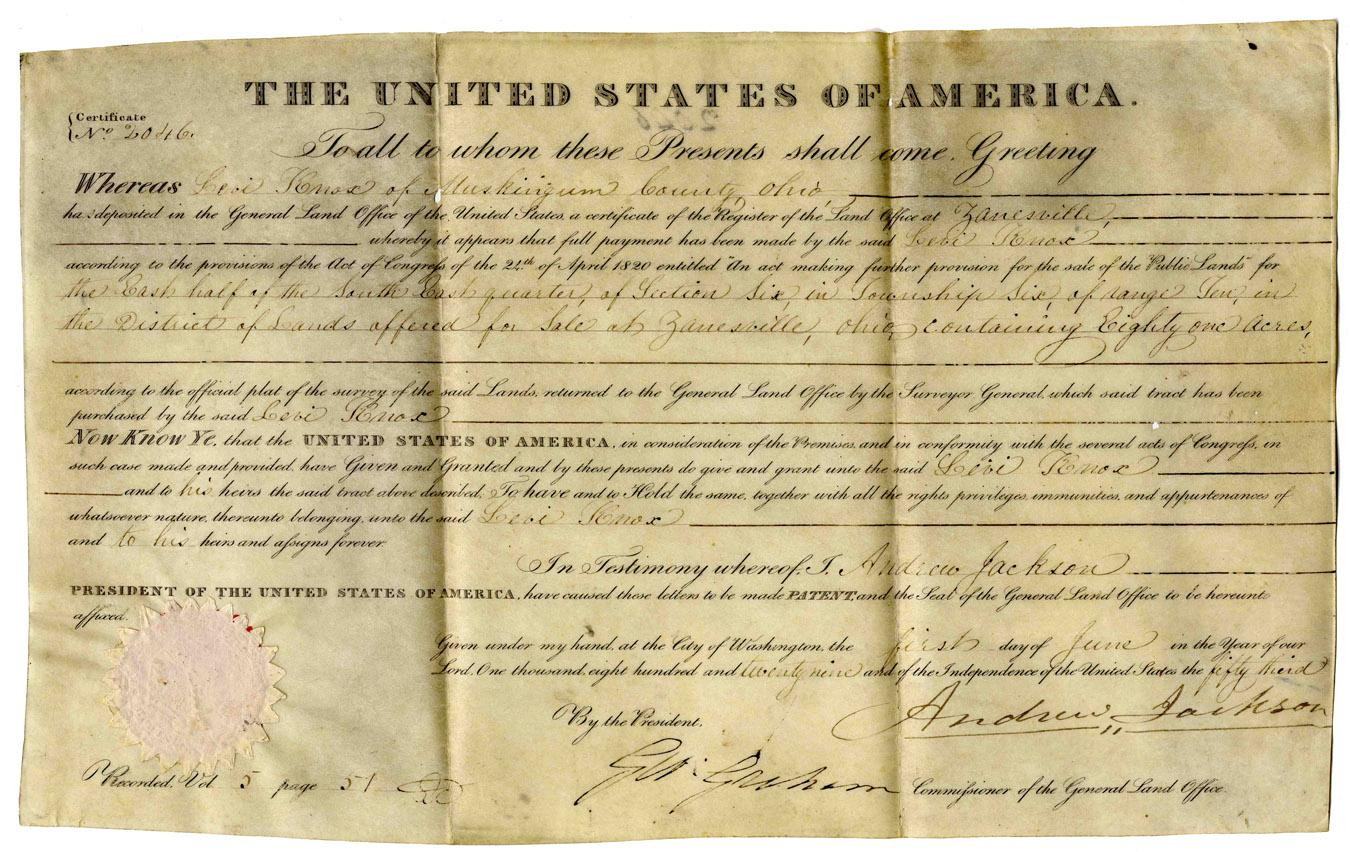 did andrew jacksons removal act benefit The pecuniary advantages which it promises to the government are the  1830 -  president andrew jackson signs the indian removal actin.