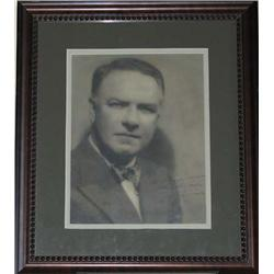 W.C. Fields Signed Photo