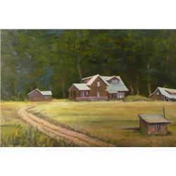 Charles D. Gilmore, Oil on Board