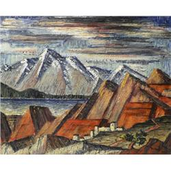 Charles R. Bunnell, Oil on Canvas