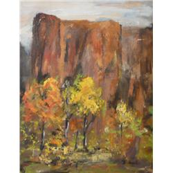 Charles R. Bunnell, Oil on Board