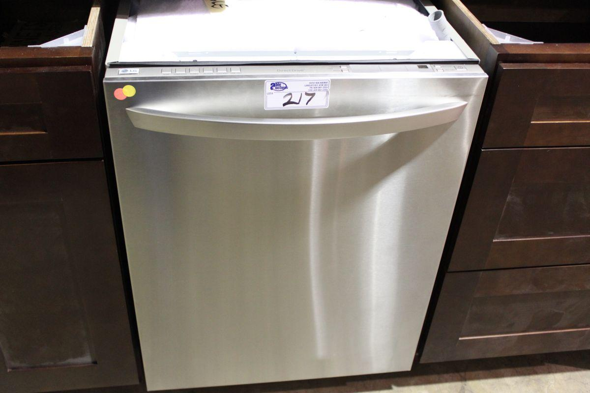 lg direct drive stainless steel dishwasher able auctions