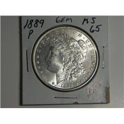 1889-P MORGAN DOLLAR
