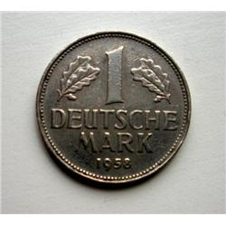 1958 1 Deutsche Mark